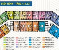 Bán căn hộ 54m2 2 phòng ngủ dự án HQC Bình Trưng Đông ## 0982986863##
