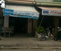 Cho thuê nhà mặt tiền gần chợ phường 2, Tân An, Long An