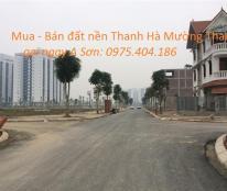 Bán nhanh lô A1.2-lk9 Thanh Hà, mặt 3 Tòa Chung cư cực đẹp, giá đầu tư-lh:0975.404.186