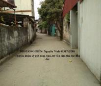 Bán đất ngõ 21 Thanh Am diện tích 34m, hướng Đông Nam chỉ 884 triệu.LH Ninh 0931705288