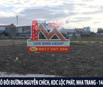 Bán đất Đường Nguyễn Chích, Khu Dân Cư Lộc Phát, Vĩnh Hòa, Nha Trang