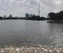 Mặt phố view hồ DT khủng, MT khủng, phù hợp nhà hàng, khách sạn, giá 88 tỷ