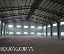 Cho thuê kho tại Phúc Yên, Vĩnh Phúc DT 1715m2 container ra vào thoải mái