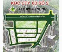Cần bán lô đất thuộc dự án Xây Dựng 5(Cienco 5), Phước Long B, quận 9.