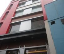 Bán gấp nhà 6.5 tầng đang cho ngân hàng thuê 125m2, mặt tiền 6m, mặt phố Huế rất đẹp