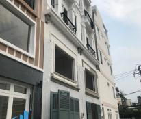Bán 10 căn nhà 4 tấm cao cấp khu vip hẻm trải nhựa 8m đường Nơ Trang Long, P. 12