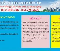 Sàn BĐS Thạch Kim cần cho thuê một số sản phẩm về nhà đất trên địa bàn TP Vinh, Nghệ An