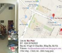 Cho thuê phòng trọ, nhà riêng gần Học viện ngân hàng, Đại học y, Thủy lợi, Công đoàn, phố Chùa bộc