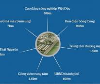 Đất Xanh Miền Bắc phân phối độc quyền đất nền Sông Công, Thái Nguyên, giá chỉ từ 400 triệu/lô