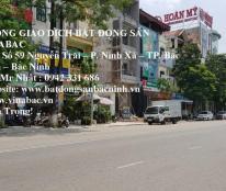 Cho thuê nhà làm văn phòng tại đường Nguyễn Trãi, TP.Bắc Ninh