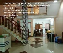 Cho thuê nhà 10 phòng đường Ngô Miễn Thiệu, trung tâm TP.Bắc Ninh