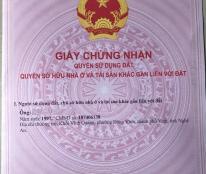 Cần bán thửa đất sổ đỏ 35m2 gần trường Chuyên Nguyễn Huệ, đường Quang Trung, Hà Đông