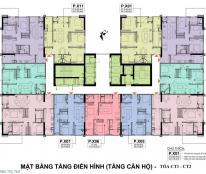 Chính chủ cần bán gấp căn hô CC số 1803 Tòa nhà CT2 dự án A10 Nguyễn Chánh căn đẹp tầng đep giá đẹp