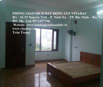 Cho thuê nhà 4 tầng đường Nguyễn Quyền, TP.Bắc Ninh