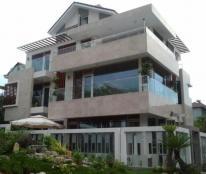 Bán biệt thự 2 mặt hẻm 8m Bàu Bàng, P13, Tân Bình 9X17m, hầm, 4 lầu
