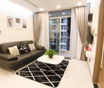 Cho thuê căn hộ 1 phòng ngủ, nội thất thiết kế theo kiểu làm văn phòng tại Vinhomes Central Park