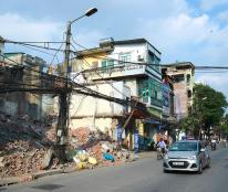 Bán đất mặt phố Minh Khai 62m2, MT 4,5m, giá 15,6 tỷ