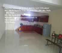 Cho thuê nhà 4 tầng tại đường Nguyễn Quyền, Khả Lễ, TP.Bắc Ninh