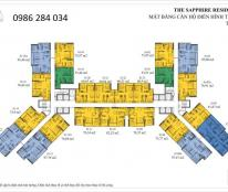 Chính chủ bán căn 11a02 The Sapphire Residences Hạ Long giá 1.7 tỷ.LH 0986284034
