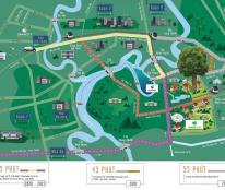 Đầu tư nhà phố khu Đông chỉ 1,959 tỷ/căn. Dự án khu đô thị Swan Park, nhà phố 1 trệt 2 lầu