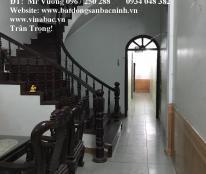 Cho thuê nhà 4 tầng, 5 phòng không đồ tại Hồ Ngọc Lân, TP.Bắc Ninh