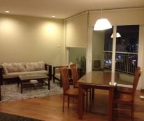 Cho thuê căn hộ chung cư 173 Xuân thủy Cầu Giấy, 112m2, 3 phòng ngủ, nội thất đầy đủ, 10 tr/th