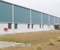 Cho thuê xưởng tại thành phố Hải Dương DT 2005m2