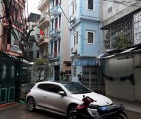 Bán nhà ngõ ô tô .kinh Doanh Hoàng Quốc Việt xây 5 tầng mt 4.5m