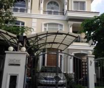 Cho thuê biệt thự Mỹ Thái, nhà mới sơn sửa, Full nội thất, có sân vườn, ban công rộng