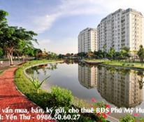 Chung cư Mỹ Phước quận 7 phú mỹ hưng 3 phòng ngủ có thang máy giá 3.450 tỷ