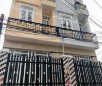 Nhà 3 tầng, 4 phòng ngủ hẽm xe hơi, Lê Văn Lương, gần BV Nhà Bè.