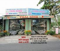 Bán nhà mặt tiền đường tỉnh lộ 869 , ngang 8m dài 27m , chợ Cái Nứa huyện Cái Bè tỉnh Tiền Giang