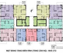 Bán căn 72m2 Tầng 30 ban công ĐN - Tòa CT1 chung cư A10 Nam Trung Yên