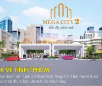 Mega City 2 Mặt tiền 25C - T21 ô 1 Dt 160m2 , Gía 1ty3 - LH: 0902969288