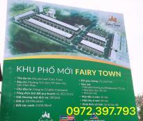 Bán gấp lô đất 140m2 dự án Fairy Town Nguyễn Tất Thành, TP Vĩnh Yên, sổ đỏ đầy đủ. LH: 0972397793