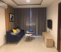 Cho thuê căn hộ Waseco, Sky center, 2PN có máy lạnh, rèm máy nước nóng, giá 14tr/th, 0986092767