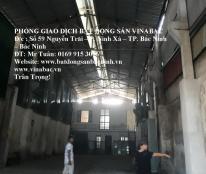Cho thuê kho xưởng rộng đẹp tại Xuân Ổ, TP.Bắc Ninh