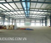 Cho thuê kho xưởng tại Lai Xá, Kim Chung, Hoài Đức, Hà Nội. DT 1580m2