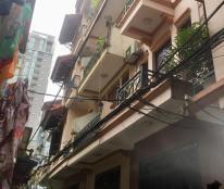 Bán nhà Hào Nam, 62m2, 4 tầng, mặt tiền 5m, ô tô đỗ cửa, cách phố 30m, 6.0 tỷ.