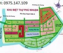 Bán lô đất có DT 239m2, đường 20m, thuộc dự án Phú Nhuận, P. Phước Long B, Q. 9