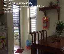 Cho thuê căn hộ chung cư Cát Tường CT4, khu Võ Cường, TP.Bắc Ninh