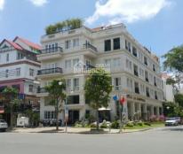 Cho thuê nhà góc Vip Bùi Bằng Đoàn, hầm, thang máy, DT: 204m2, giá: 227 triệu 0919552578