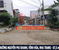 Bán đất mặt tiền đường Nguyễn Phi Khanh, Hòn Xện, Nha Trang