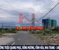 Bán đất lô đôi xây KS gần biển đường Triệu Quang Phục, Nha Trang