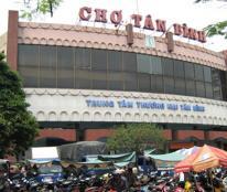 Bán nhà mặt tiền chợ chính chủ Tân Bình 100m2 giá chỉ 12 tỷ.