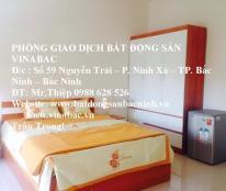 Cho thuê nhà có 6 phòng khép kín tại trung tâm TP.Bắc Ninh