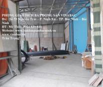Cho thuê kho xưởng tại Võ Cường, trung tâm thành phố Bắc Ninh