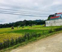 Bán đất mặt tiền Đường Mười 100m2/350tr vào trung tâm xã Quý Lộc