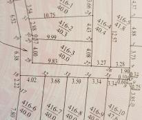 Bán lô đất  37,6m2 340tr tại xã Đức Thượng, gần ngã tư Trôi