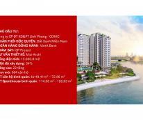 Bán căn hộ 3 mặt tiền sông, mặt tiền Tạ Quang Bửu, Quận 8, giá từ 1,1tỷ/2 PN. Liên hệ: 0935183689